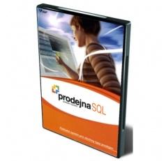 Prodejna SQL - Licence pro váhu