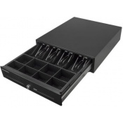 Pokladní zásuvka CD-530 12V, RJ-12 (6 pin), černá
