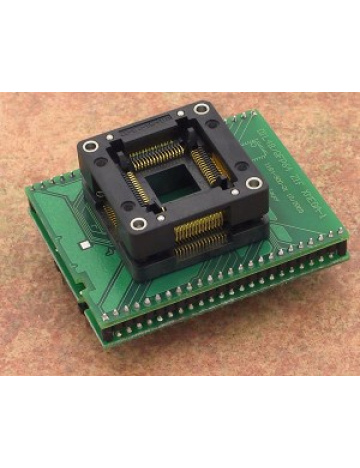 DIL48/QFP64 ZIF XMEGA-1