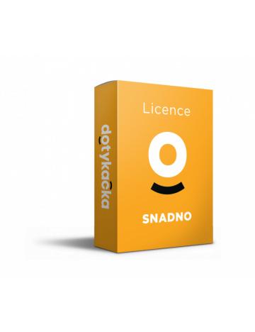 Licence SNADNO (12 měsíců)