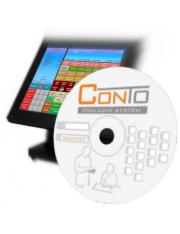 Conto - modul kalkulací a skladu