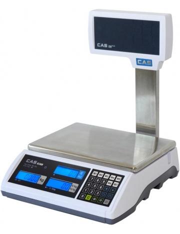 Váha CAS ER-Plus LP, 15 kg, se sloupkem