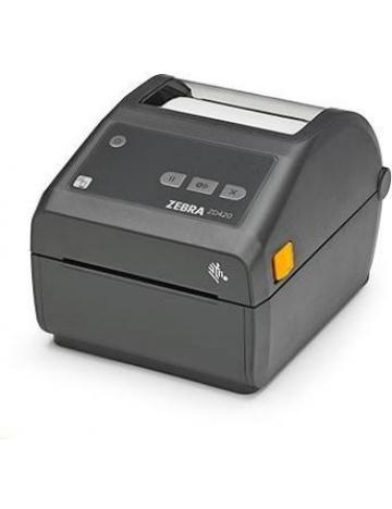 Tiskárna etiket Zebra DT ZD420, USB, LAN, BT
