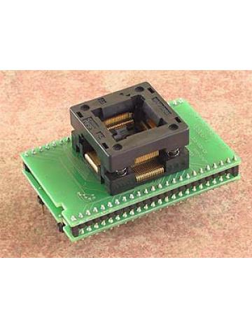 DIL48/QFP80-1 ZIF HC908-1