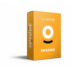 Licence SNADNO (1 měsíc)